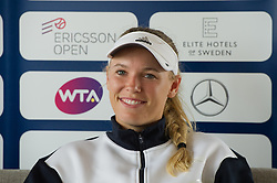 Caroline Wozniacki (Denmark) at the 2017 WTA Ericsson Open in Båstad, SWEDEN, July 25, 2017. Photo Credit: Katja Boll/EVENTMEDIA.