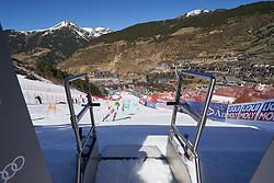 March 15, 2019 - Andorra - Aline DANIOTH during the race Alpine Team's race, Audi Fis Alpine Ski World Cup, Finals Round, on March 15, 2019 in Soldeu - El Tarter, Andorra (Credit Image: © AFP7 via ZUMA Wire)