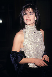 Dec 07, 1994; Los Angeles, CA, USA; Actress COURTENEY COX wears a glittering silver top at the 1994 Fire & Ice Ball.  (Credit Image: © Kathy Hutchins/ZUMAPRESS.com)