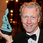 NLD/Amsterdam/20111002 - Uitreiking John Kraaijkamp awards 2011, Hajo Bruins