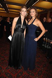 Left to right, ISABELLE COATEN and LADY NATASHA RUFUS-ISAACS at a Gala dinner in aid of Chickenshed held at the Guildhall, City of London on 29th October 2007.<br /><br />NON EXCLUSIVE - WORLD RIGHTS