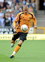Fotball<br /> England<br /> Foto: Fotosports/Digitalsport<br /> NORWAY ONLY<br /> <br /> Molineux Wolverhampton Wanderers v Sheffield Wednesday  16/08/2008 Championship<br /> Michael Kightly (Wolves)