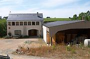 Winery building. Domaine Jo Pithon, Anjou, Loire, France