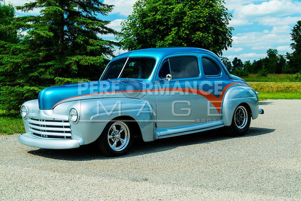 1947 Custom Ford 2 door Coupe