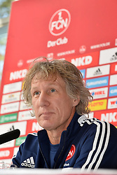22-10-2013 VOETBAL: PERSCONFERENTIE FC NURNBERG: NURNBERG<br /> Presentatie van de nieuwe trainer Gertjan Verbeek<br /> ***NETHERLANDS ONLY***<br /> ©2013-FotoHoogendoorn.nl