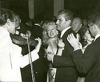 1952 Ginger Rogers dancing at Ciro's Nightclub in West Hollywood