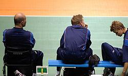 22-06-2000 JAP: OKT Volleybal 2000, Tokyo<br /> Nederland - Korea 3-1 / Pierre Mathieu, Arjen Boonstoppel