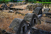 Old and new Jewish Cemetery coexist in the same space, in an area of ​​17 acres in Messapion Street in downtown Chalkidas. The Jewish cemetery of Halkida is one of the most important and historic Jewish cemeteries of Greece as it contains graves dating from the Ottoman period (15th century).