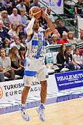 DESCRIZIONE : Campionato 2014/15 Dinamo Banco di Sardegna Sassari - Enel Brindisi<br /> GIOCATORE : David Logan<br /> CATEGORIA : Tiro Tre Punti<br /> SQUADRA : Dinamo Banco di Sardegna Sassari<br /> EVENTO : LegaBasket Serie A Beko 2014/2015<br /> GARA : Dinamo Banco di Sardegna Sassari - Enel Brindisi<br /> DATA : 27/10/2014<br /> SPORT : Pallacanestro <br /> AUTORE : Agenzia Ciamillo-Castoria / Luigi Canu<br /> Galleria : LegaBasket Serie A Beko 2014/2015<br /> Fotonotizia : Campionato 2014/15 Dinamo Banco di Sardegna Sassari - Enel Brindisi<br /> Predefinita :