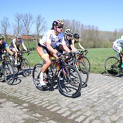 03-04-2016: Wielrennen: Ronde van Vlaanderen vrouwen: Oudenaarde  <br />OUDENAARDE (BEL) cycling  The sixth race in the UCI Womensworldtour is the ronde van Vlaanderen. A race over the famous Flemish climbs.<br />Chantal Blaak