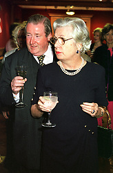 SIR WILLIAM & LADY McALPINE, he is the 6th Baronet,<br />  at an exhibition in London on 2nd May 2000.ODF 44