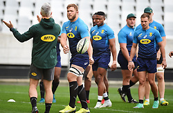 Cape Town-180619 Springbok  during their training session at Cape Town stadium,the team is preparing for the last test  against England at Newslands on Saturday..Photographer:Phando Jikelo/African News Agency/ANA