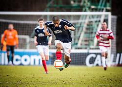 Falkirk's Lyle Taylor..Hamilton 1 v 2 Falkirk, Scottish Cup quarter-final, Saturday, 2nd March 2013..©Michael Schofield.