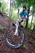 Decade Bikes promotional shoot. South Downs at Steyning, Sussex.