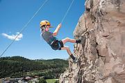 Rock Climbing, Telluride Academy, Society Turn, Telluride, Colorado June 30, 2020. Photo by Rohanna Mertens