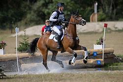 Binard Leon, BEL, Enzo van't Vennehof<br /> CCI2*-S Arville 20202<br /> © Hippo Foto - Dirk Caremans<br />  22/08/2020