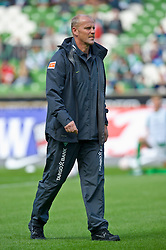 28.08.2010, Weser Stadion, Bremen, GER, 1.FBL, Werder Bremen vs 1. FC Koeln im Bild  Thomas Schaaf ( Werder  - Trainer  COACH)  EXPA Pictures © 2010, PhotoCredit: EXPA/ nph/  Kokenge+++++ ATTENTION - OUT OF GER +++++ / SPORTIDA PHOTO AGENCY