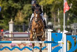 Evrard Emilie, BEL, Honesty Chavannaise<br /> Belgian Championship 7 years old horses<br /> SenTower Park - Opglabbeek 2020<br /> © Hippo Foto - Dirk Caremans<br />  13/09/2020
