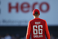 Joe Root (my Hero) during the International T20 match between England and India at Old Trafford, Manchester, England on 3 July 2018. Picture by George Franks.