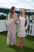 AMBER LEBON; ALICE CAMPBELL, Cartier International Polo. Smiths Lawn. Windsor. 24 July 2011. <br /> <br />  , -DO NOT ARCHIVE-© Copyright Photograph by Dafydd Jones. 248 Clapham Rd. London SW9 0PZ. Tel 0207 820 0771. www.dafjones.com.