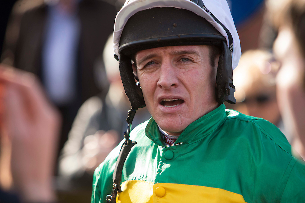 Horse Racing - Fairyhouse Easter Festival, Monday 28th March 2016<br /> Barry Geraghty<br /> Photo: David Mullen /www.cyberimages.net / 2016