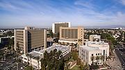 Downtown Santa Ana on Ross Street and West Santa Ana Blvd