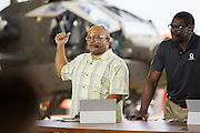 January 27 2016: ESPN Mike Tirico during the Pro Bowl Draft at Wheeler Army Base on Oahu, HI. (Photo by Aric Becker/Icon Sportswire)