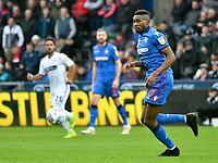 Football - 2018 / 2019 Sky Bet EFL Championship - Swansea City vs. Bolton Wanderers<br /> <br /> Sammy Ameobi of Bolton Wanderers passes the ball, at The Liberty Stadium.<br /> <br /> COLORSPORT/WINSTON BYNORTH