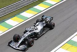 November 17, 2019, Sao Paulo, Brazil: LEWIS HAMILTON, of Mercedes AMG Petronas drives during the Formula One Grand Prix of Brazil 2019 at Interlagos circuit, in Sao Paulo, Brazil (Credit Image: © Paulo Lopes/ZUMA Wire)