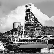 Mount Isa ,Australia, (QSL): Exterior view of the Mount Isa, Mines Limited, Power plant by . Photographs by Alejandro Sala   Visit Shop Images to purchase and download a digital file and explore other Alejandro-Sala images…
