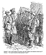 """General. """"And what were you doing, my man, when you started this war?"""" Tommy. """"'Oo said I started this blinkin' war?"""""""