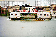 08 MARCH 2006 - A passenger ferry on the Saigon River in Ho Chi Minh City (formerly Saigon). Photo by Jack Kurtz