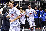 DESCRIZIONE : Berlino Berlin Eurobasket 2015 Group B Germany Germania - Italia Italy<br /> GIOCATORE : Danilo Gallinari<br /> CATEGORIA : Before Pregame Fair Play<br /> SQUADRA : Italia Italy<br /> EVENTO : Eurobasket 2015 Group B<br /> GARA : Germany Italy - Germania Italia<br /> DATA : 09/09/2015<br /> SPORT : Pallacanestro<br /> AUTORE : Agenzia Ciamillo-Castoria/M.Longo