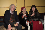 LORD SUDELEY,JULIA STONOR;  LADY SUDELEY;, Launch hosted by Quartet books  of Madam, Where Are Your Mangoes? by Sir Desmond de Silva at The Carlton Club. London. 27 September 2017.