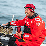 Leg 9, from Newport to Cardiff, day 08 on board MAPFRE, Antonio Cuervas-Mons. 27 May, 2018.