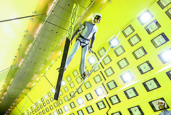 24.07.2015, Klima Wind Kanal, Wien, AUT, OESV, Skisprung, Training im Wind Kanal , im Bild Manuel Poppinger // during a trainingssession of the Austrian ski jumping team in the Climatic Wind Tunnel, Vienna, Austria on 2014/07/24. EXPA Pictures © 2015, PhotoCredit: EXPA/ Sebastian Pucher
