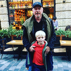 """Boris Becker releases a photo on Instagram with the following caption: """"Having fun with my boy #amadeus"""". Photo Credit: Instagram *** No USA Distribution *** For Editorial Use Only *** Not to be Published in Books or Photo Books ***  Please note: Fees charged by the agency are for the agency's services only, and do not, nor are they intended to, convey to the user any ownership of Copyright or License in the material. The agency does not claim any ownership including but not limited to Copyright or License in the attached material. By publishing this material you expressly agree to indemnify and to hold the agency and its directors, shareholders and employees harmless from any loss, claims, damages, demands, expenses (including legal fees), or any causes of action or allegation against the agency arising out of or connected in any way with publication of the material."""