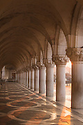 Arches of Doge's Palace, St Marks Square.Venice, Italy, Europe