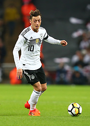 November 10, 2017 - London, England, United Kingdom - Mesut Ozil of Germany ..during International Friendly match between England  and Germany  at Wembley stadium, London  on 10 Nov  , 2017 ..during International Friendly match between England  and Germany  at Wembley stadium, London  on 10 Nov  , 2017  (Credit Image: © Kieran Galvin/NurPhoto via ZUMA Press)