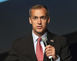 July 26, 2018 - Washington, DC, U.S - COREY LEWANDOWSKI, campaign manager for Donald Trump's 2016 campaign, speaking at the Turning Point High School Leadership Summit in Washington, DC on July 26, 2018 (Credit Image: © Michael Brochstein via ZUMA Wire)