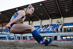 Neja Filipic competes in Women's triple jump during day one of the 2020 Slovenian Cup in ZAK Stadium on July 4, 2020 in Ljubljana, Slovenia. Photo by Grega Valancic / Sportida