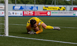 Livingston keeps Matija Sarkic after Falkirk's Lewis Toshney misses the last penalty to give Livingston the win. Falkirk 1 v 1 Livingston, Livingston win 4-3 on penalties. BetFred Cup game played 13/7/2019 at The Falkirk Stadium.