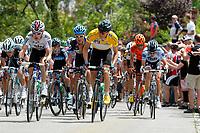 Sykkel<br /> Foto: imago/Digitalsport<br /> NORWAY ONLY<br /> <br /> 26.05.2011  <br /> Der Führender Edvald BOASSON HAGEN ( NOR / SKY Professional Cycling Team ) wird von seinem Domestiken Geraint Thomas (GBR) dem amtierenden englischen Strassenmeister eskortiert<br /> <br /> 32. Bayern Rundfahrt 2011