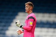 Josef Bursik of Doncaster Rovers   during the EFL Cup match between Blackburn Rovers and Doncaster Rovers at Ewood Park, Blackburn, England on 29 August 2020.