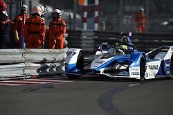 May 11, 2019 - Monaco, Monaco - 27 English driver Alexander Sims of BMW I Andretti Motorsport drive her single-seater during the 3rd edition of Geox Rome E-Prix in neighborhood EUR in Rome, Italy  (Credit Image: © Andrea Diodato/NurPhoto via ZUMA Press)