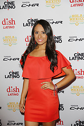 LOS ANGELES, CA - JUNE 7 Nitzia Chama attends the 9th Annual Hola Mexico Film Festival Opening Night at the Regal LA LIVE in downtown Los Angeles, on June 7, 2017 in Los Angeles, California. Byline, credit, TV usage, web usage or linkback must read SILVEXPHOTO.COM. Failure to byline correctly will incur double the agreed fee. Tel: +1 714 504 6870.