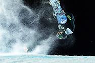 Sebbe De Buck during Men's Snowboard Knuckle Huck Finals at 2021 X Games Aspen in Aspen, CO. ©Brett Wilhelm/ESPN