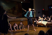 """Performance of """"Romeo and Juliet"""" by the Chelsea Funnery in Chelsea, Vt., on July 24, 2015. (Photo by Geoff Hansen)"""