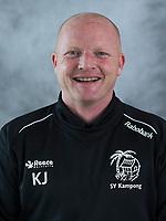 UTRECHT - Assistent coach Kai de Jager, Kampong Heren I, seizoen 217-2018. COPYRIGHT KOEN SUYK