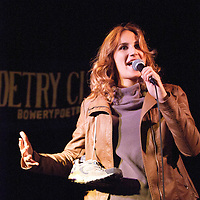Schtick or Treat - November 1, 2011 - Bowery Poetry Club - Meg Cupernall